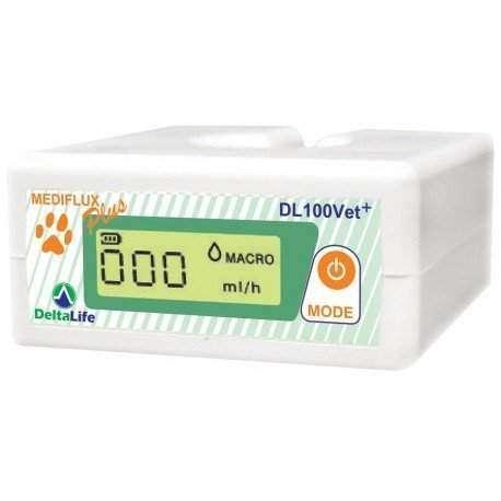 Medidor de soro ou medicamento DL100