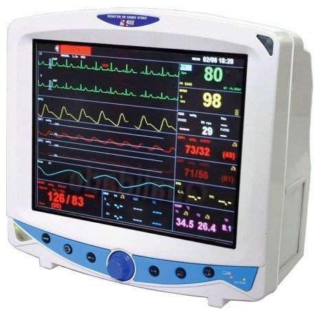 Monitor Cardíaco com Pressão Arterial Invasiva