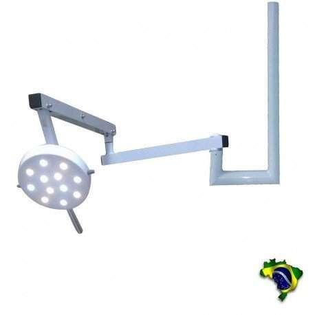 Foco Cirúrgico Bicolor 12 Lampadas - Teto Vet