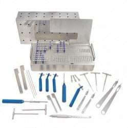 Caixa ortopédica Veterinária Mista (Sist. 2.0/2.7/3.5 e 4.0mm)