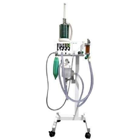 Aparelho de Anestesia Inalatória Digital com respiração mecânica