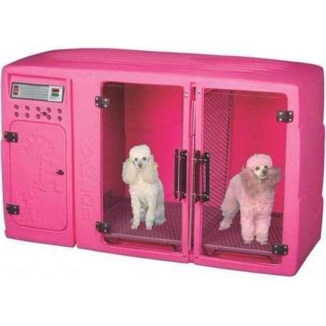 Maquina de Secar Animais Kyklon Rosa