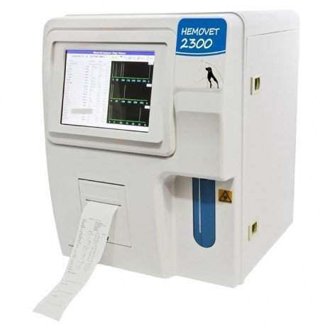 Contador Hematológico automático - 23 parâmetros - HEMOVET 2300