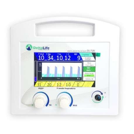DL728 - Ventilador Pulmonar