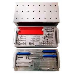 Caixa Ortopédica Mista Bloqueada Sistemas 1.5 / 2.0 / 2.7 / 3.5mm
