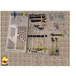 Caixa Ortopédica Placas e parafusos tamanho 2,0 / 2,7 / 3,5 e 4,0