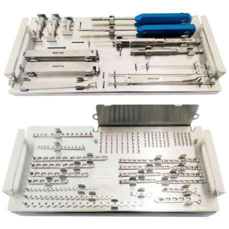 Caixa Ortopédica Bloqueada - Sistemas 1.5 / 2.0 / 2.7 mm