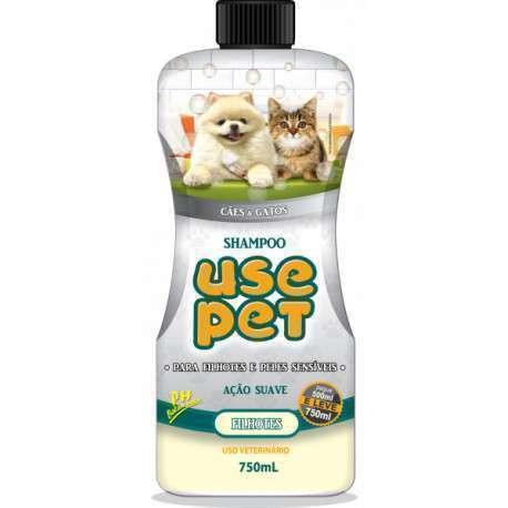 Shampoo para filhotes e peles sensíveis