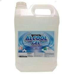 Antisséptico Álcool Em Gel 70% INPM 5 Litros