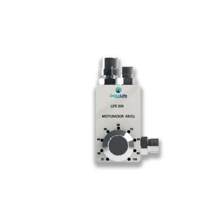LIFE200 Blender - Misturador de Ar/ Oxigênio