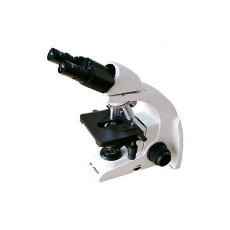 Microscópio Biológico Binocular com Ótica Infinita até 1600x com Bateria recarregável 4 Objetivas Planacromáticas