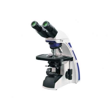 Microscópio Biológico Binocular Série Blue até 1600x com Ótica Infinita, Polarização e Objetivas Planacromáticas