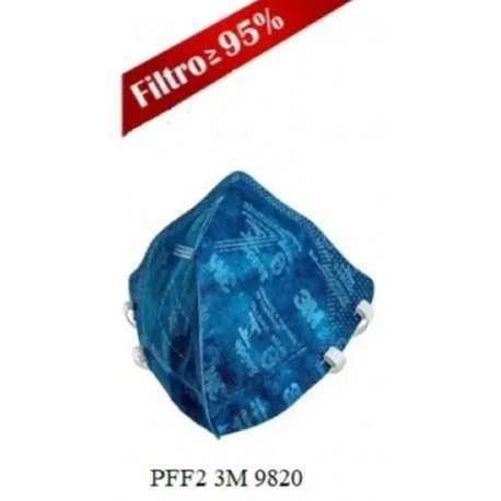 Mascara 3M 9820 PFF2 N95