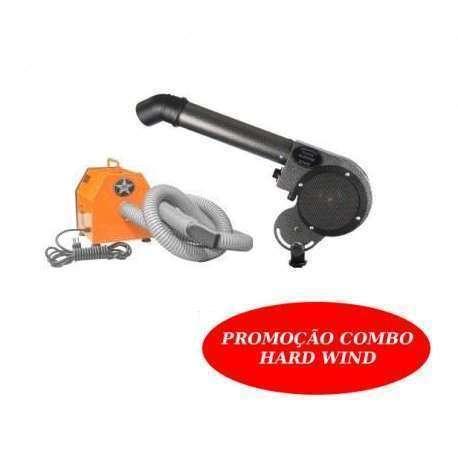 Secador Turbo Hard Wind + Soprador 6.2 Hard Wind