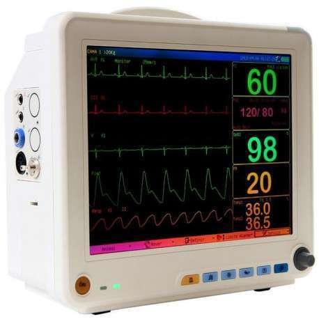 Monitor Multiparamêtrico ECG + SPO2 + PANI + TEMP + FR
